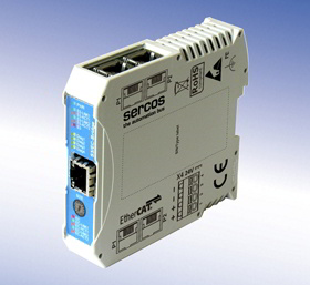 Cannon-Automata Sercos/EtherCAT-Bridge
